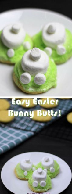 Easy Easter Bunny Butt Crinkle Cookies Recipe With Video!