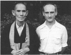 Haku'un  Yasutani  with Phillip Kapleau