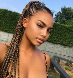 How To Braid Your Own Cornrows? Easy And Stylish Cornrows cornrows; cornrows braids for black women; Box Braids Hairstyles, Protective Hairstyles, Summer Hairstyles, Girl Hairstyles, Protective Styles, Black Girl Braids, Braids For Black Hair, Blonde Braids, Curly Hair Styles