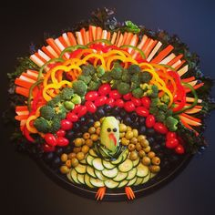 Turkey relish tray…nailed it! Turkey relish tray…nailed it! Thanksgiving Fruit, Thanksgiving Vegetables, Thanksgiving Appetizers, Holiday Appetizers, Thanksgiving Side Dishes, Turkey Veggie Tray, Veggie Platters, Vegetable Trays, Sauces