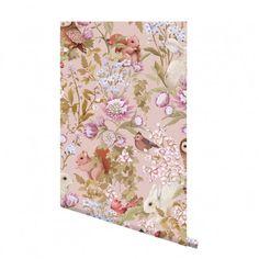 Woodland Wallpaper Blush