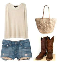 """""""Comfy and Cool"""" by kandei on Polyvore"""
