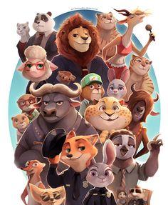 Quiz: are you the ultimate zootopia fan? – zootopia news network Disney Pixar, Disney Fan Art, Disney And Dreamworks, Disney Cartoons, Disney Love, Zootopia Characters, Zootopia Art, Zootopia 2016, Cartoon Characters