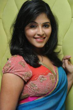 Anjali in saree #Tollywood #Fashion #Style #Beauty #Kollywood #Mollywood