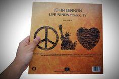 Packaging / John Lennon Live in New York City