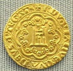 Genova, genovino d'oro di Simone Boccanegra, 1339-1344.Simone Boccanegra (Ligurian: Scimon Boccaneigra, Italian: Simone Boccanegra; died 1363) was the first Doge of Genoa. He became doge in 1339, but was ousted from power six years later. He regained the position in 1356, retaining it until his death in 1363.His story was popularized by Antonio García Gutiérrez's 1843 play Simón Bocanegra and Giuseppe Verdi's 1857 opera Simon Boccanegra. Note the spellings.