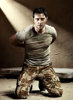 "Richard Armitage as John Porter in ""Strike Back"""