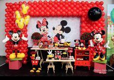 Créditos: @encontrodefestas Festa Mickey Mouse