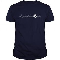 Soccer Heartbeat Great Gift For Any Soccer Lover - #printed t shirts #girls hoodies. CHECK PRICE => https://www.sunfrog.com/Sports/Soccer-Heartbeat-Great-Gift-For-Any-Soccer-Lover-Navy-Blue-Guys.html?60505