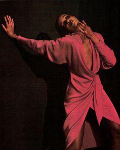 Iman for Calvin Klein, 1982 photographer unknown