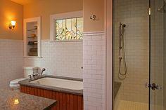 St. Paul Bungalow Remodel - craftsman - bathroom - minneapolis - David Heide Design Studio