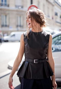 Olivia Palermo at the Christian Dior Couture show, Paris Fashion Week (Fall/Winter 2013) on July 2, 2012 in Paris, France.