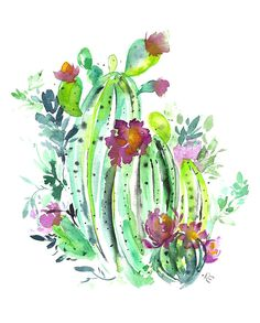 Pink Puddle Studio offers botanical art prints, custom art options and entertaining watercolor workshops in the heart of Phoenix, Arizona.