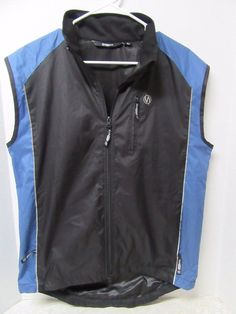 illumiNITE Reflective Hi Vis Cycling Running Vest Jacket Mens Womens Unisex M Md #illuminite