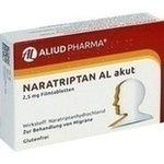 #Flacar: Sehr gefragt ist aktuell auch dieses Produkt   Google Anfragen zu NARATRIPTAN AL akut 2,5mg glutenfreie Tabletten bei Migräne…