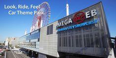 見て乗って感じる クルマのテーマパーク MEGA WEB(メガウェブ)