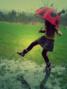 skipping through the puddles <3