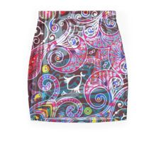 Paisley Splash Mini Skirt