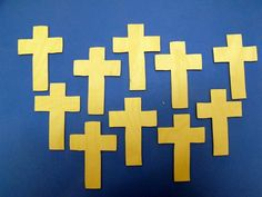 10 birch ply (NOT MDF) Christian cross sign memorial decoration pyrography craft