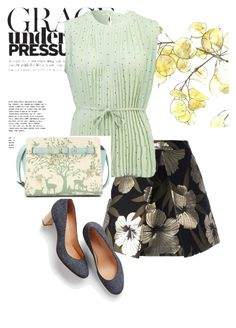 """""""pumps"""" by masayuki4499 ❤ liked on Polyvore featuring P.A.R.O.S.H. and Talbots"""