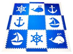 SoftTiles Nautical Set with Borders