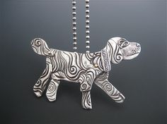 Happy Dog Pendant