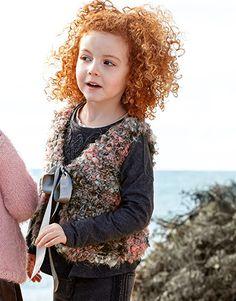 Book Kids 79 Autumn / Winter | 10: Kids Vest | Rose-Beige