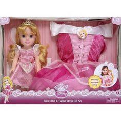 Disney Princess Aurora Doll & Toddler Dress Gift... : Target Mobile