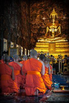 Buddha, Wat Paknam, Bangkok, Thailand Bangkok Thailand, Buddha, Beautiful