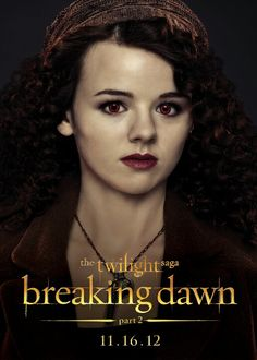 This is Maggie from the Irish coven in twilight