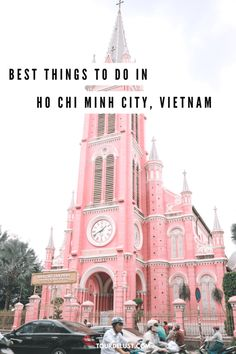 Ho Chi Minh is a vibrant city full of energy. If you have plans to visit, here's a list of the best things to do in Ho Chi Minh City! Vietnam Travel, Asia Travel, Solo Travel, Beach Travel, Wanderlust Travel, Travel Advice, Travel Tips, Travel Destinations, Free Travel