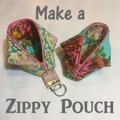 Make a clever Zippy Pouch Sweat Pea Pod at Pinners Conference Utah #pinnersut