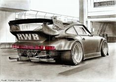RWB Porsche 911 Turbo 930 Drawing by krzysiek-jac on Deviantart Carros Porsche, Rwb Porsche, Porsche 911 Turbo, Porsche 2017, Custom Porsche, Ferdinand Porsche, Maserati, Bugatti, Dream Cars