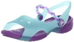 crocs Girls' Emelina Sandal ^^ Hurry! Check out this great product : Girls sandals