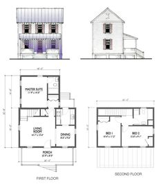 800 Sq FT Cottage Plans | The 400-square-foot dream home – MSN Real Estate