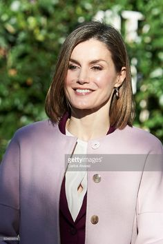 Queen Letizia of Spain visits the FAD (Foundation Against Drug Addiction) on January 12, 2016 in Madrid, Spain.