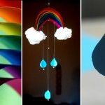 beautiful rainbow craft