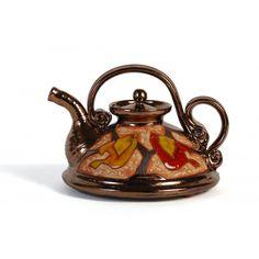 Tetera artesanal de cerámica - Rozi Art Cerámica