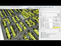 CityEngine Feature: 3D Land Use Zoning  Zoning regulations are text-based descriptions (per city) of allowed building volumes, usage, and density. They are the main tool defining the image of a city and/or growth/development investment money. CityEngine allows you to specify, visualize, analyze, and store zoning regulations in 3D.