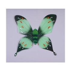 RG Costumes 65263 Green Butterfly Wings Costume