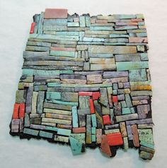"""short discussion on """"scraps"""". no tute but worth a look/see #Polymer #Clay #Tutorialspoly"""