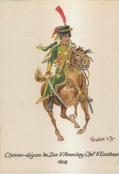 Comandante di squadrone del rgt. cavalleggeri del duca di Aremberg