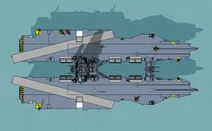 future aircraft carrier concepts | From the bow and stern, the carrier strikes a menacing, solid ...