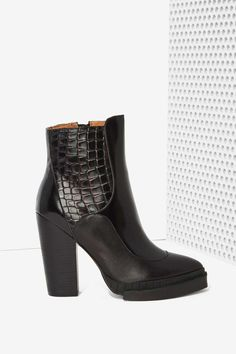 Jeffrey Campbell Impress Leather Boot | Nasty Gal