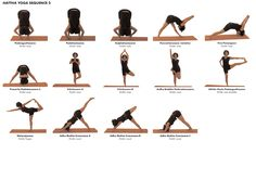 Yoga Poses (Asana) Hattha Sequence 2