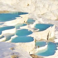 Take me to Turkey  #Pammukale