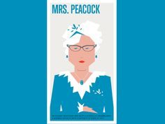 Mrs. Peacock    by: #hipstreet