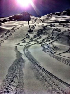 morning skiing. shared by http://www.myskiholiday.com