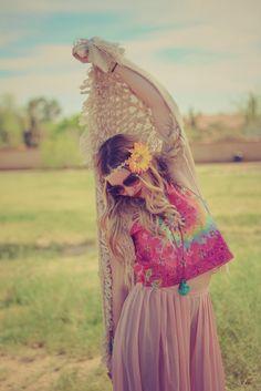 Kaleidoscopic Crop Top. $15.00, via Etsy. #Coachella #Festivalfashion #musicfestival