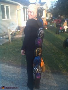 This homemade costume for adults entered our 2011 Halloween Costume Contest, and won a special prize in the Most Creative Costume nomination!